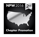 2016 NPW Chapter Promotion 2nd place
