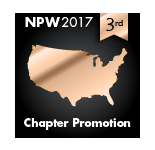 2017 NPW Chapter Promotion 3rd place